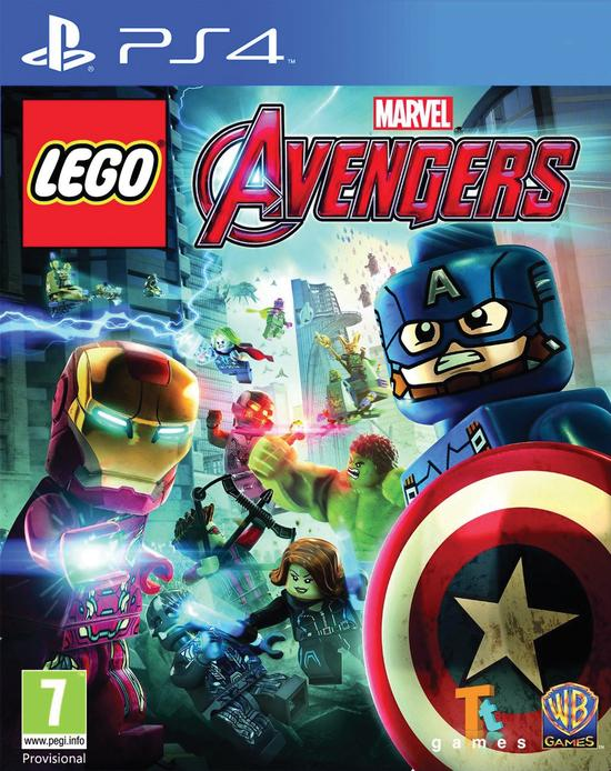 Warner Bros PS4 LEGO Marvel Avengers