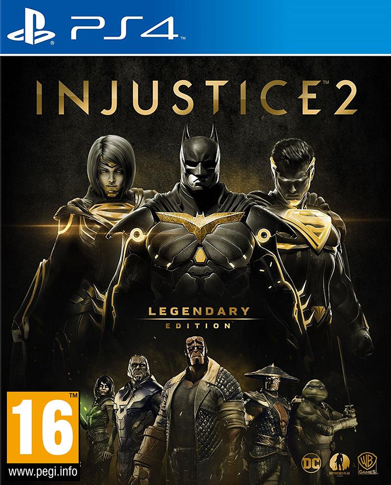 Warner Bros PS4 Injustice 2 - Legendary Edition