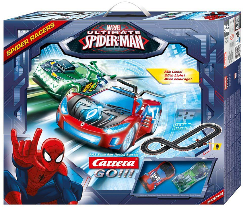 Carrera Carrera Pista GO!!! Marvel Ultimate Spider-Man Spider Racers - 3.6 m