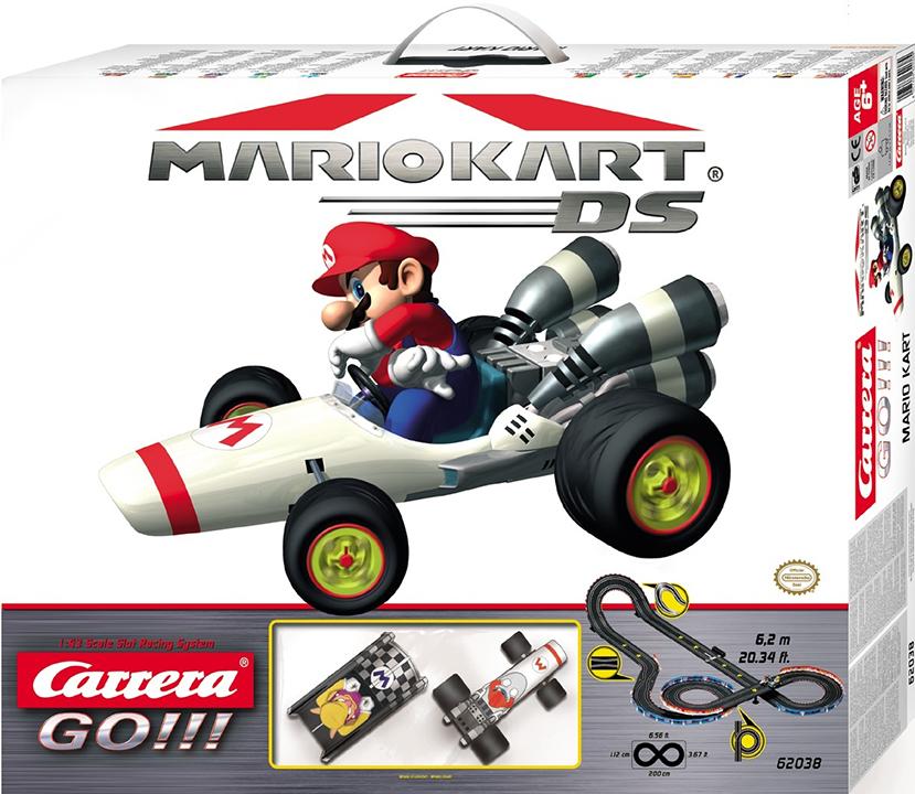 Carrera Carrera Pista GO!!! Mario Kart DS - 6,2 m