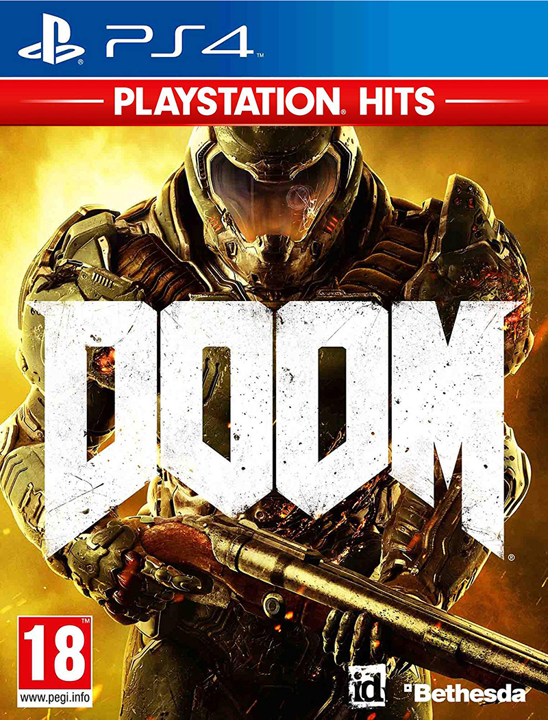 Bethesda PS4 Doom - PS Hits
