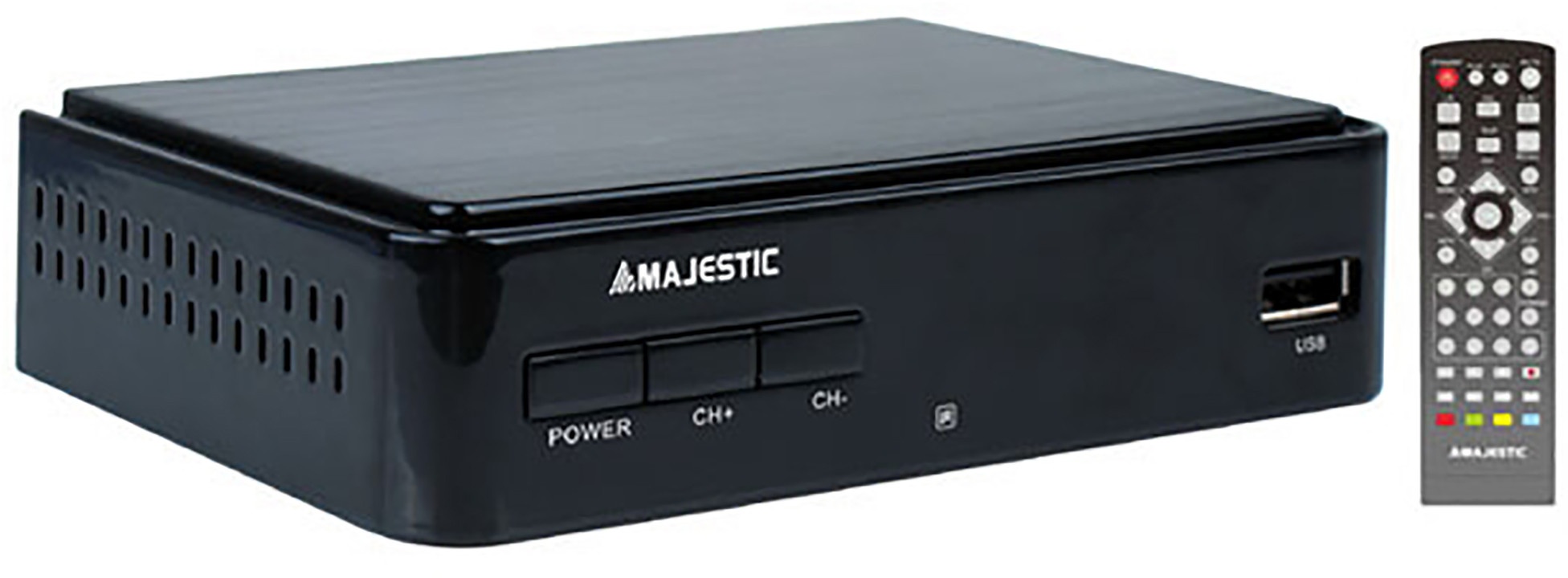 Majestic Majestic Decoder DEC-664 DVB-T/T2 HD/USB/REC Black