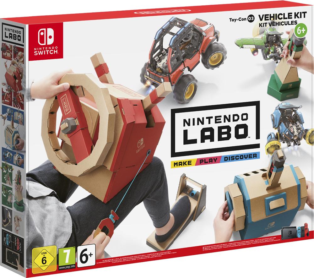 Nintendo Switch LABO Toy-Con: Kit Veicoli