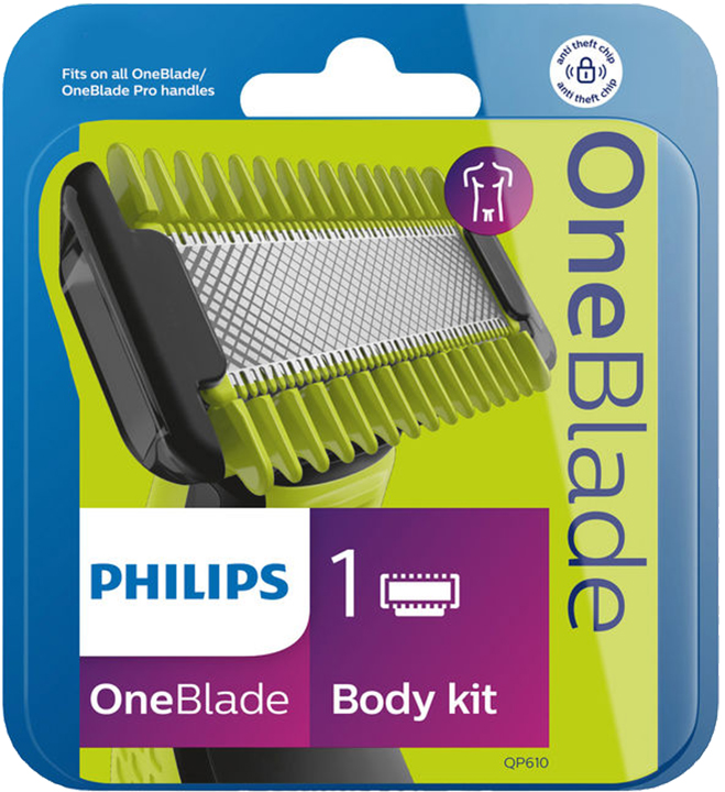 Philips Philips Norelco OneBlade Kit Corpo QP610/55