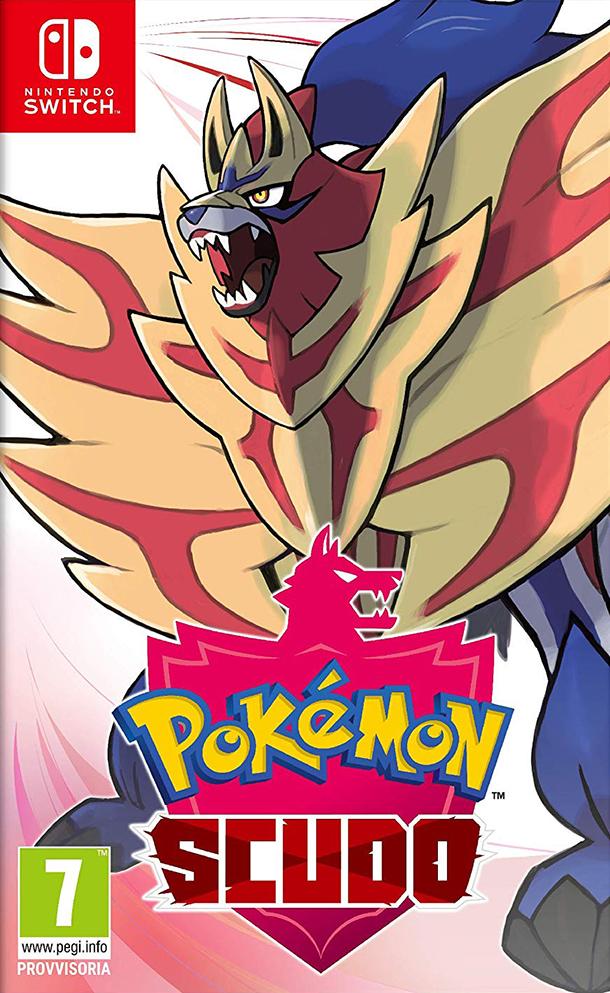 Nintendo Switch Pokemon Scudo