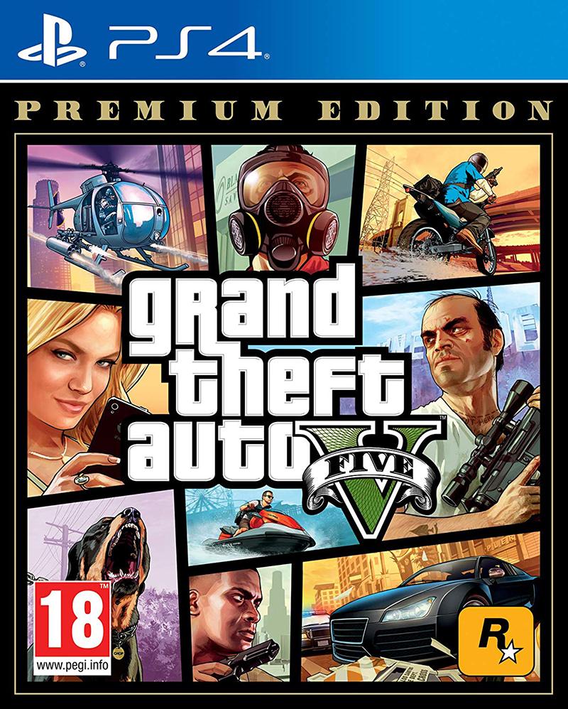 Take Two Interactive PS4 GTA Grand Theft Auto 5 - Premium Edition EU