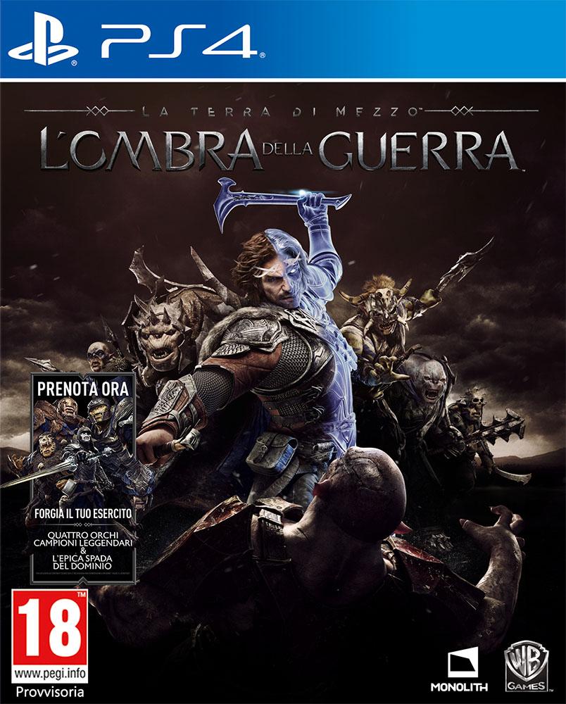 Warner Bros PS4 La Terra di Mezzo: L Ombra della Guerra