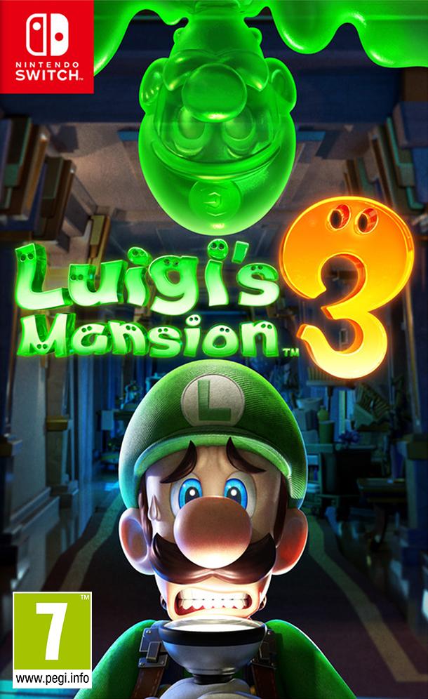 Nintendo Switch Luigi s Mansion 3