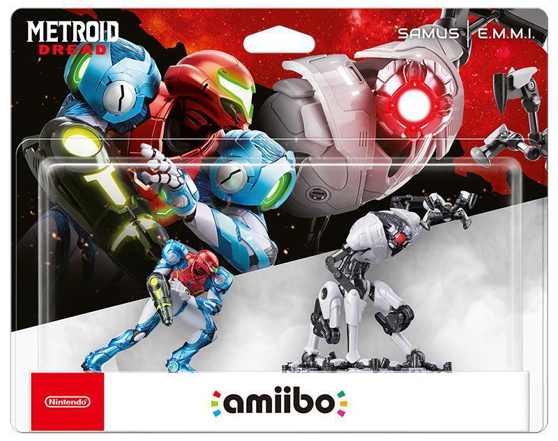 Nintendo Amiibo Metroid D Samus & Emmi 2in1