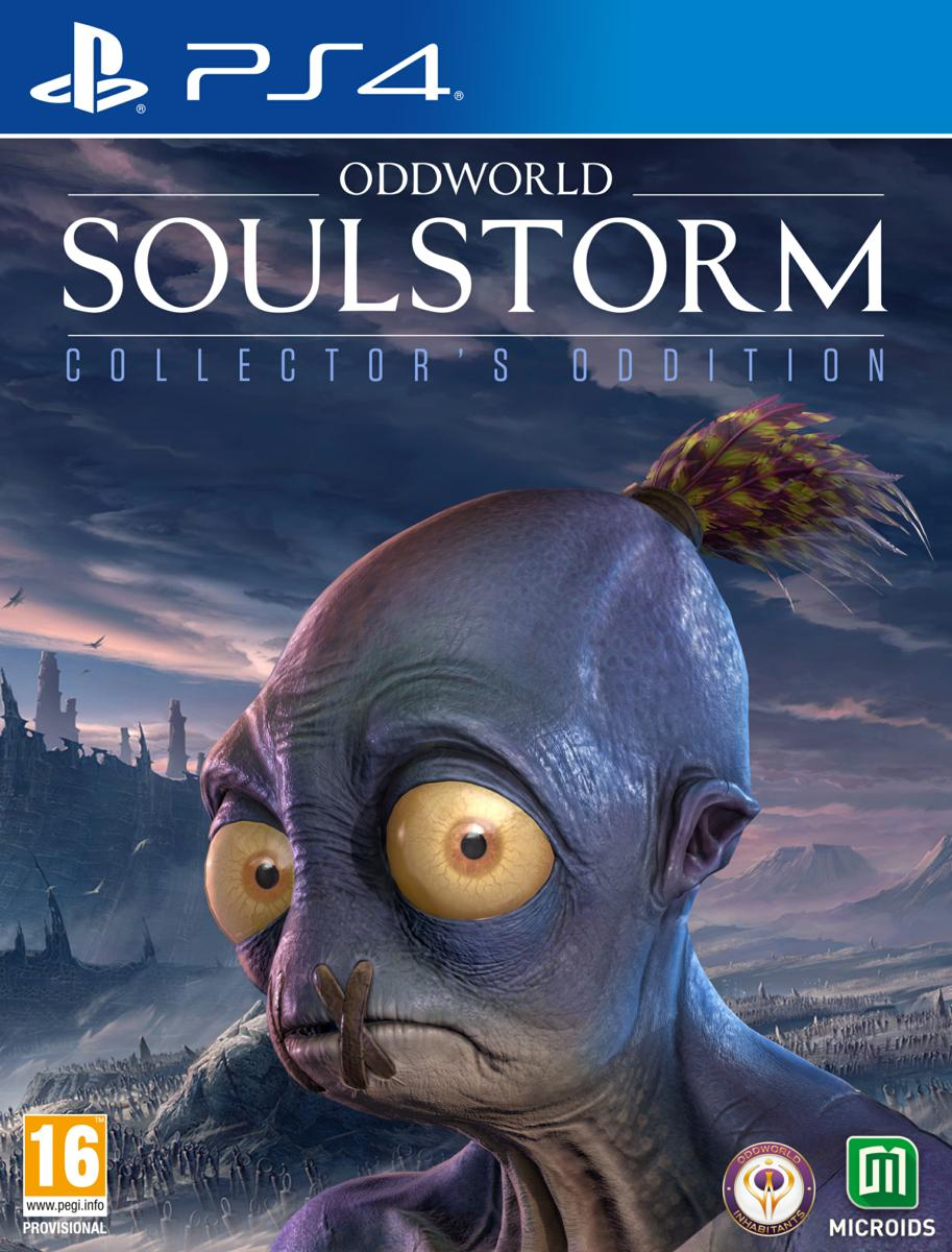 Microids PS4 Oddworld: Soulstorm Collector Edition