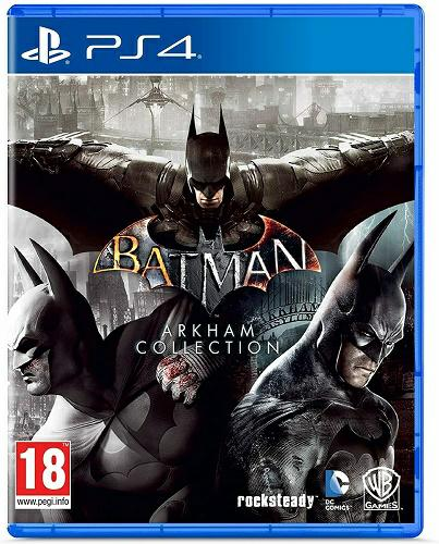 Warner Bros PS4 Batman: Arkham Collection