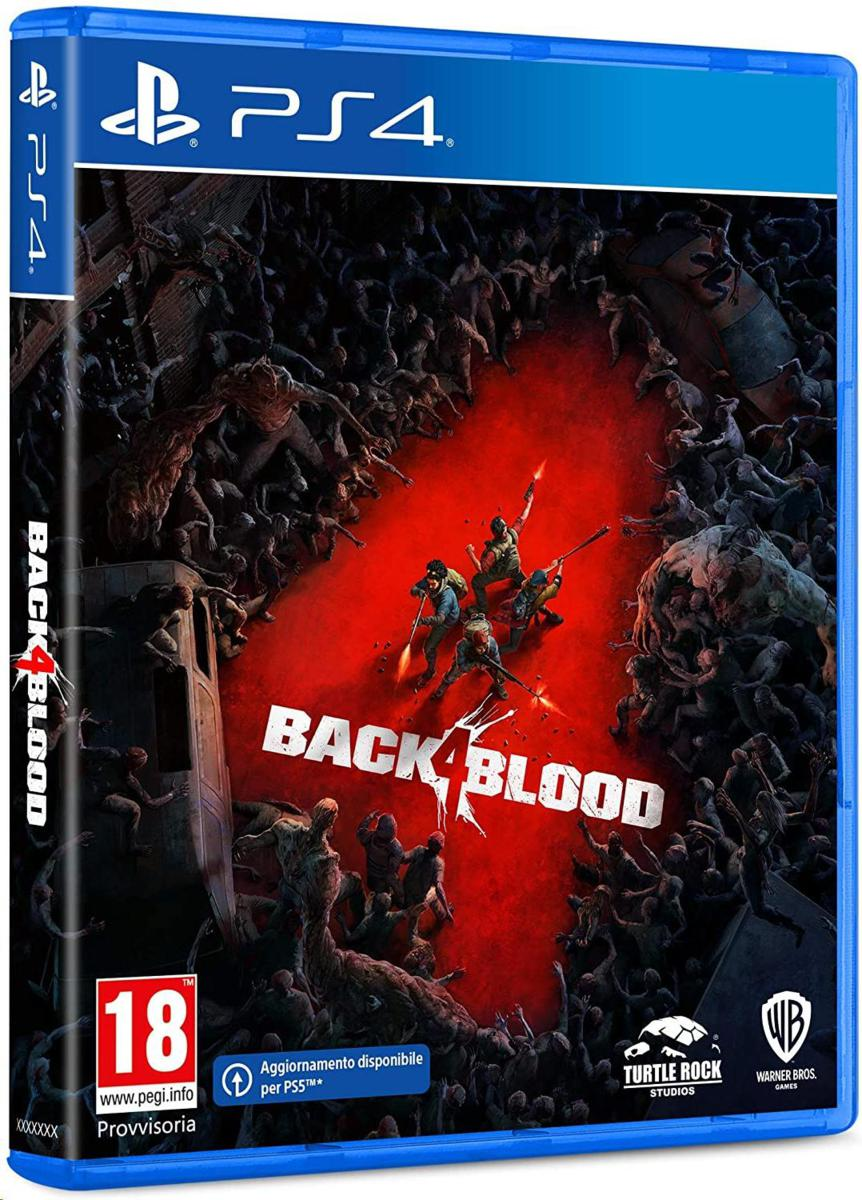Warner Bros PS4 Back 4 Blood