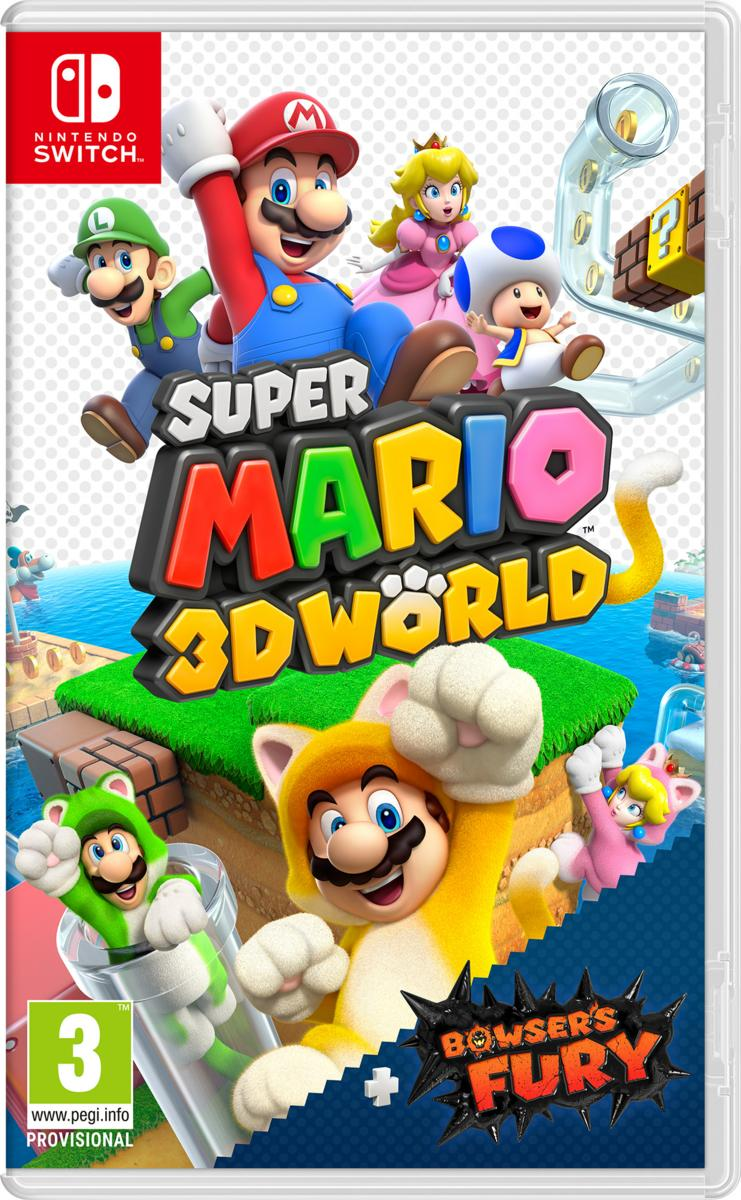 Nintendo Switch Mario 3D Worlds + Bowser s Fury