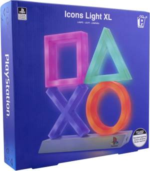Paladone Paladone PP4140PS Lampada Playstation Icons XL Multicolore