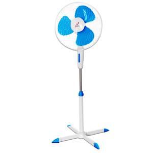 JCL JCL Ventilatore a piantana JCL40 40cm Bianco/Blu