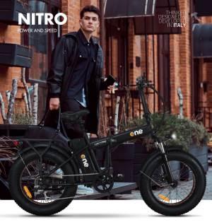 The ONE The ONE Bici Elettrica One Nitro 250W Black