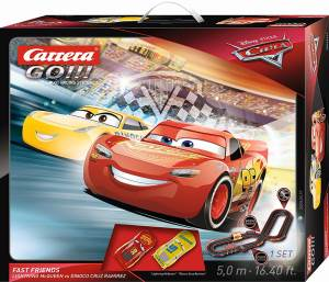 Carrera Carrera Pista GO!!! Cars 3 Fast Friends - 5,0 m