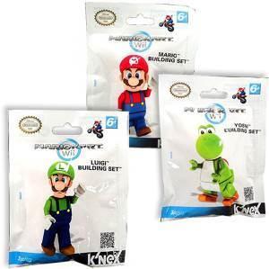 K Nex K Nex Mario Kart WII Figure - Yoshi