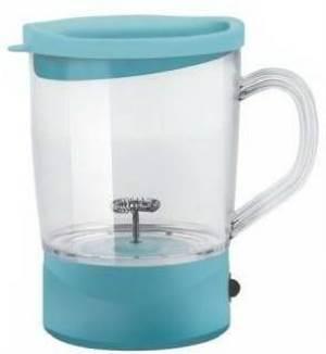 Kooper Kooper Cappuccinatore A Batterie Mug Azzurro