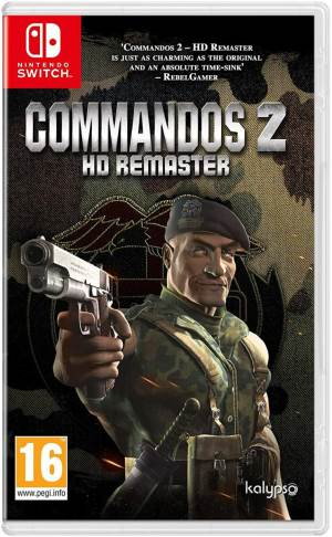 Kalypso Switch Commandos 2 HD Remaster