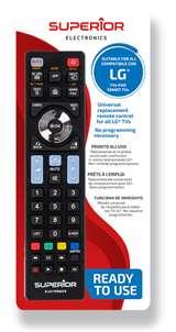 Superior Electronics Superior Telecomando Universale LG funzioni Smart TV SH
