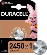 Duracell Duracell Lithium Batterie Bottone DL/CR2450 1pz
