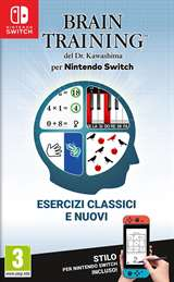 Nintendo Switch Brain Training del Dott. Kawashima