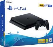Sony Computer Ent. PS4 Console 500GB F Chassis Slim Black EU