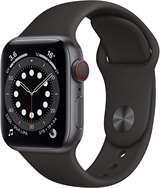 Apple Apple Watch Serie 6 GPS+Cell 40mm Space Gray Aluminium Case/Black Sport Band