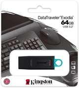 Kingston Kingston Pendrive USB-A 3.2 64GB DTX/64GB Nero/Celeste