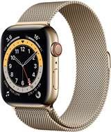 Apple Apple Watch Serie 6 GPS+Cell 44mm Gold Stainless Steel Case/Gold Milanese Loop