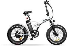 Icon.e Icon.e Bici Elettrica Pieghevole AllRoad Plus 250W Navy White S