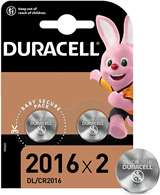 Duracell Duracell Batterie Lithium Long Lasting Power CR2016 2pz