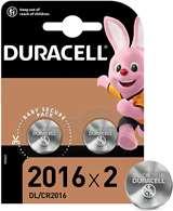 Duracell Duracell Batterie Lithium Long Lasting Power CR2016 2pz