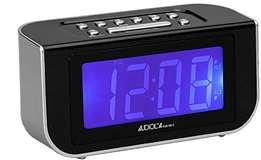 Audiola Audiola Radiosveglia RSB-0912 AM/FM 2 allarmi Black/Silver