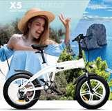 Icon.e Icon.e Bici Elettrica Pieghevole iCeberg-X5 250W Matt White