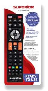 Superior Electronics Superior Telecomando Universale Samsung funzioni Smart TV SH