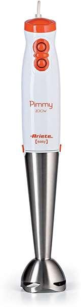Ariete Ariete Frullatore ad Immersione 0881 Pimmy Lama in Acciaio 200W
