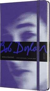 Moleskine Moleskine Taccuino Bob Dylan Cop. Rigida 13x21cm Viola