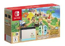 Nintendo Switch Console 1.1 Limited Ed. Animal Crossing + Animal Crossing: New Horizons