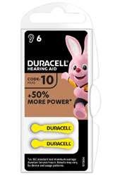 Duracell (1 Confezione) Duracell ActiveAir Batterie 6pz Acustiche Medical DA10