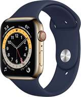 Apple Apple Watch Serie 6 GPS+Cell 44mm Gold Stainless Steel / Deep Navy Sport Band