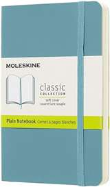Moleskine Moleskine Quaderno a Pagine Bianche Blu