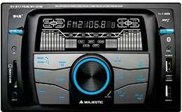 Majestic Majestic Autoradio Mechless SV-517 DAB+ BT/RDS/2xUSB/SD/AUX Nero