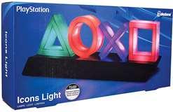 Paladone Paladone PP4140PS Lampada Playstation Icons Multicolore