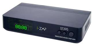 I-ZAP I-Zap Decoder ST395 Play DVB-T2 DVB-S2 HEVC 10 BIT HD HDMI/USB/LAN