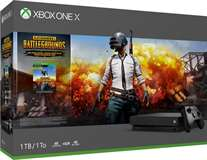 Microsoft XBOX ONE X Console 1TB + PlayerUnknown's Battlegrounds