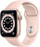 Apple Apple Watch Serie 6 GPS 40mm Gold Aluminium Case/Pink Sand Sport Band