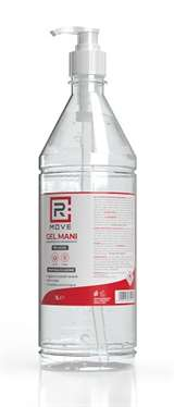 RMove RMove Gel Igienizzante Mani Alcool 70% con Dosatore 1l