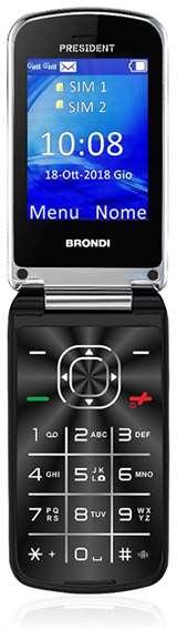 Brondi Brondi President Nero DS ITA